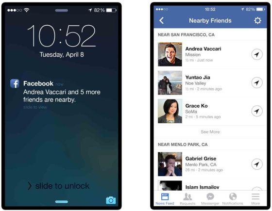 Los amigos de Andrea Vaccari, responsable del proyecto, muestran la localización en su móvil.