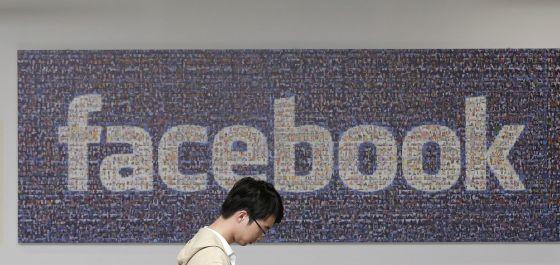 Oficina de Facebook en Menlo Park (California).
