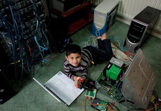 Un genio de la informática a los 6 años