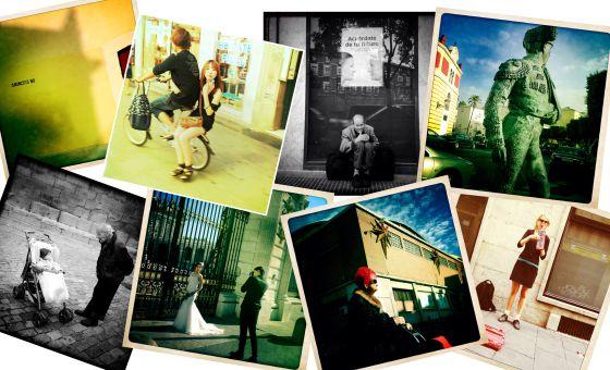 Colage con fotos tomadas con Instagram.