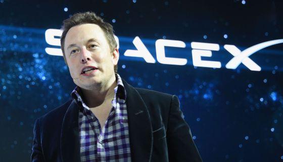 Elon Musk, cofundador de SpaceX.