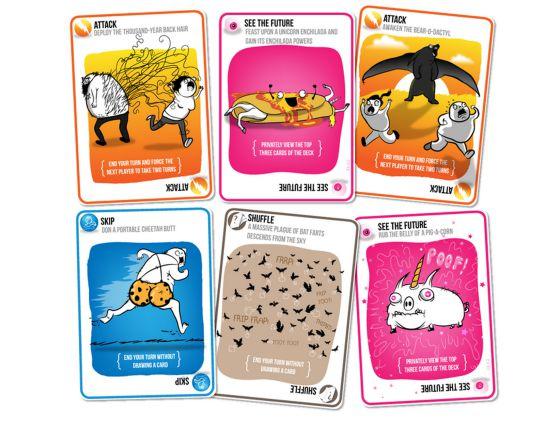 El juego de cartas de gatitos que ha recaudado seis millones de dólares