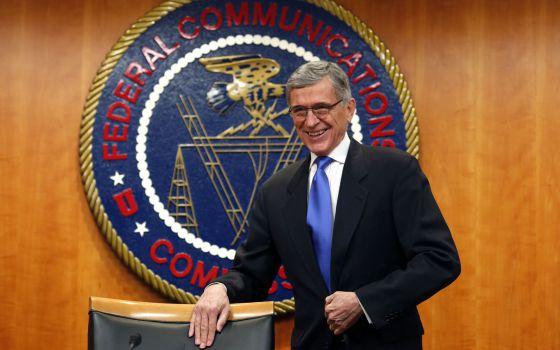 El presidente de la FCC, Tom Wheeler, este jueves.