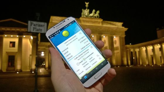 Las mediciones se realizaron con la 'app' Netradar, instalada en más de 200.000 móviles, que registra parámetros como la velocidad o la latencia.