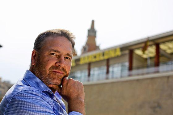 El director de Linden Labs, Ebbe Altberg, en la sede de EL PAÍS en Barcelona.