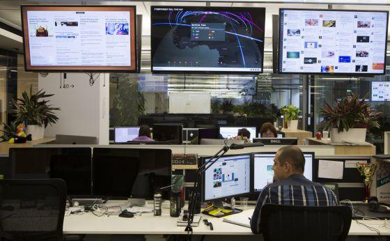 Las oficinas de Kaspersky en Moscú.