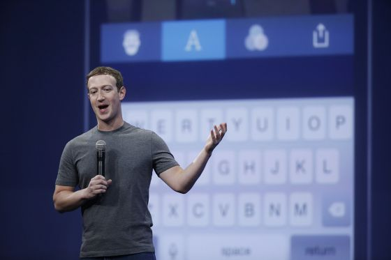 Mark Zuckerberg durante la conferencia de Facebook en San Francisco el pasado mes de marzo.