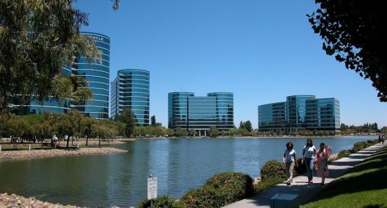 Sede central de Oracle en Silicon Valley, California.