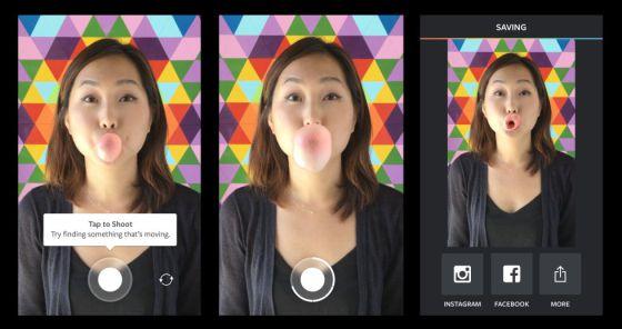 Aplicación para la red social Instagram
