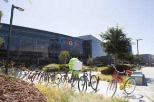 El Googleplex, la sede central de la empresa en California.