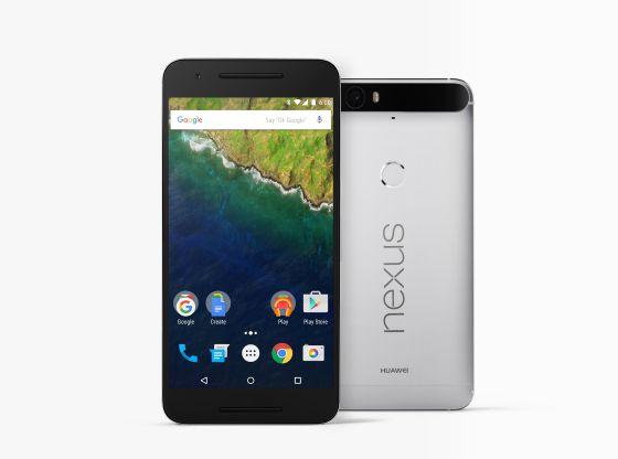 Cara frontal y posterior del Nexus 6P.