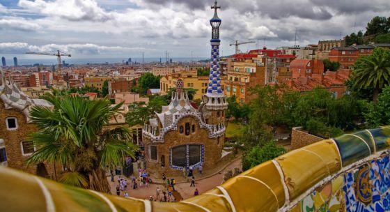 El Parque Güell de Barcelona, el lugar de España más fotografiado en Instagram.