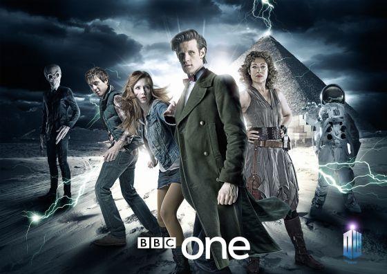 Cartel promocional de la longeva serie 'Dr. Who'.