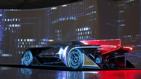 El Faraday Future FFZERO1.