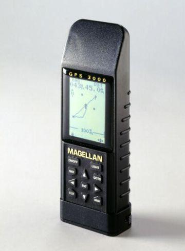 Uno de los primeros GPS.