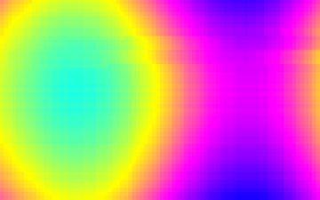 Imagen lisérgica que reproducía el virus LSD.com.