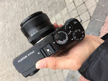 Fuji X-Pro 2, una cámara pensada para olvidar las réflex