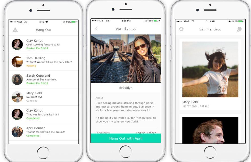Ameego, la aplicación móvil que permite alquilar amigos.