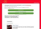Un falso cupón de McDonald's roba datos personales en WhatsApp