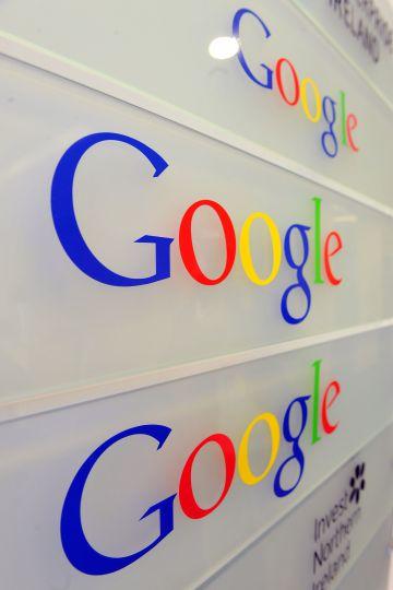 Entrada a las oficinas de Google en Bruselas