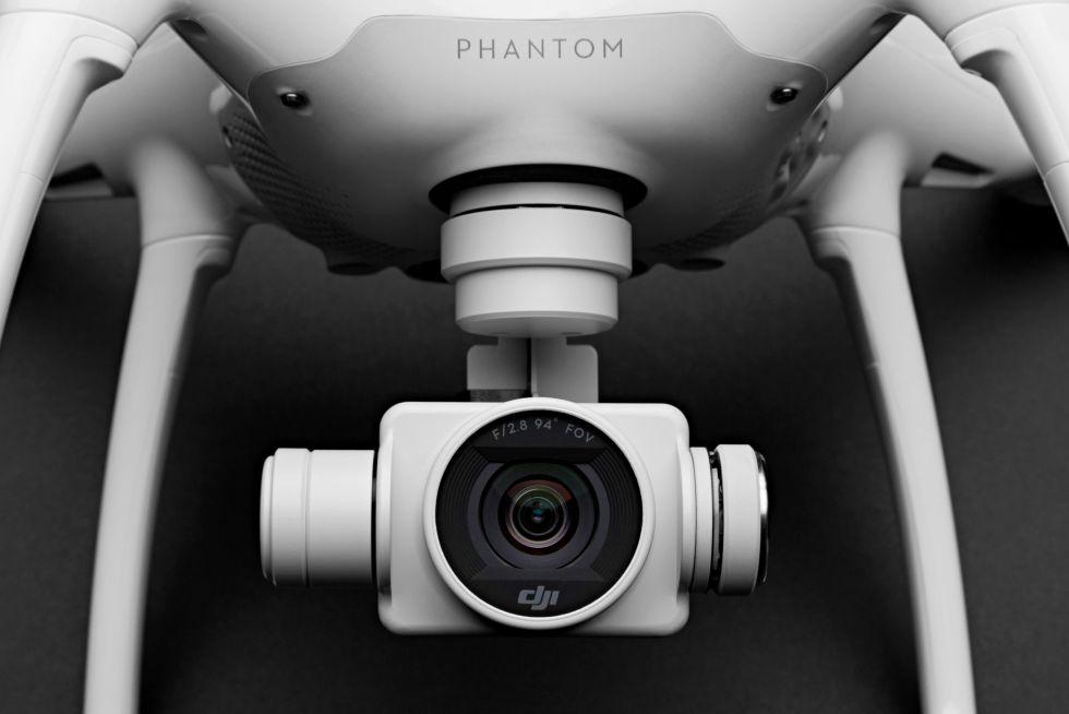La cámara 4K del nuevo Phantom 4.
