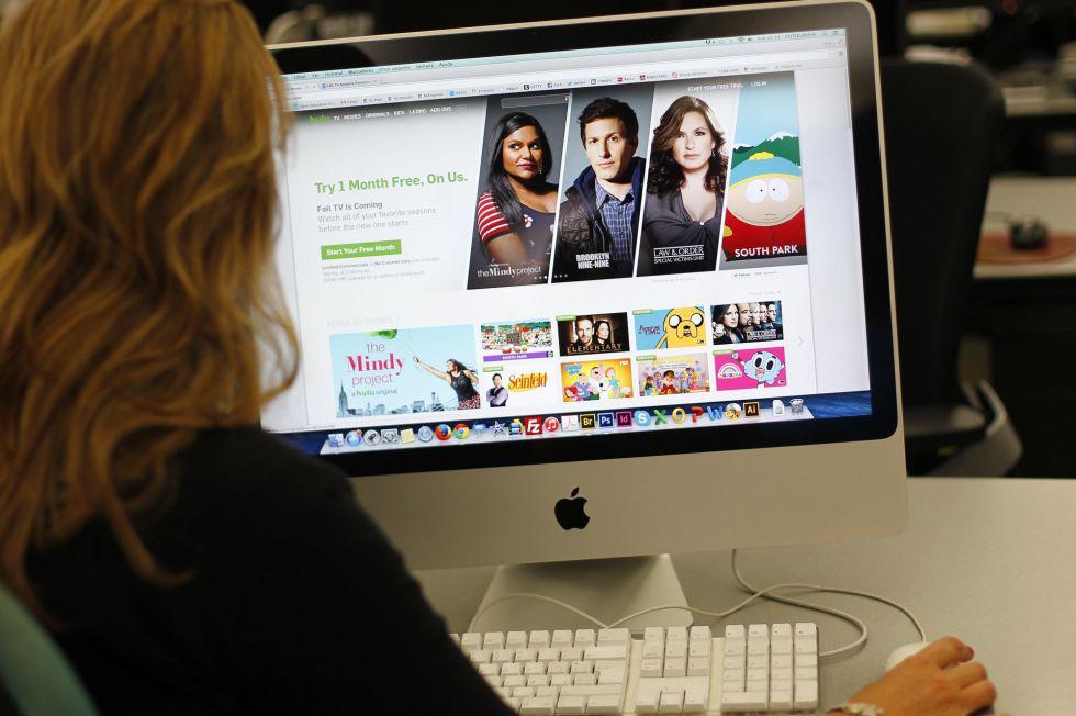 Página web del portal de televisión Hulu, que expulsa a los usuarios con bloqueadores de publicidad.