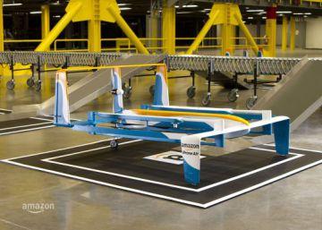 Amazon Prime Air, reparto con drones en menos de media hora