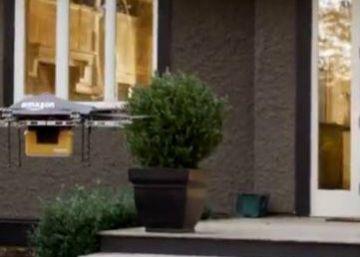 Amazon prueba el envío de paquetes con drones