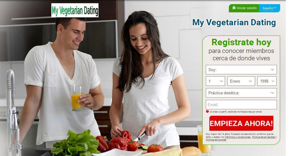 Una web especializada en buscar pareja entre vegetarianos.