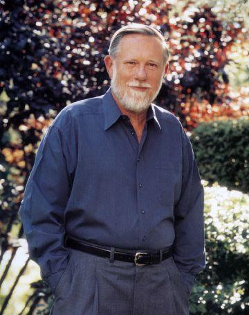Charles Geschke en su casa de Los Altos (California).