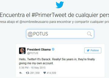 ¿Cuál fue el primer 'tuit' de...?