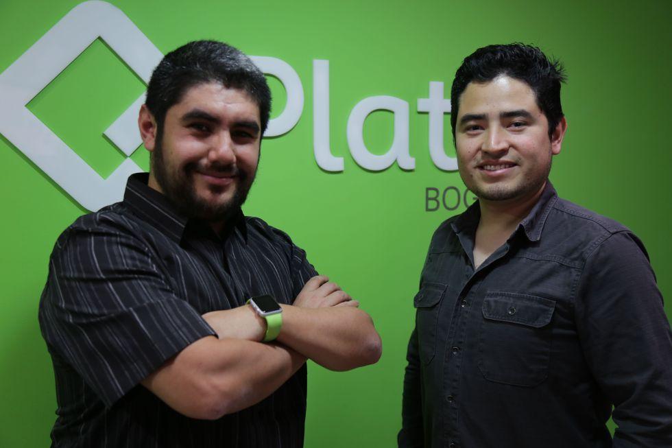 Christian Van Der Henst (izquierda) y Freddy Vega, fundadores de Platzi, los primeros latinos en Y Combinator.