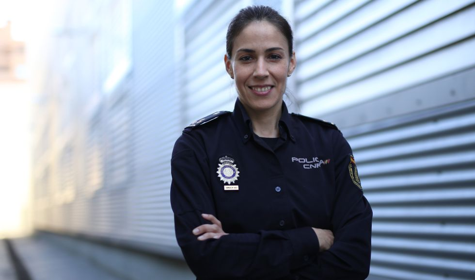 Chefa da Unidade de Investigação Tecnológica, Silvia Barrera