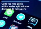 Así son las nuevas apps de mensajería que están plantando cara a WhatsApp