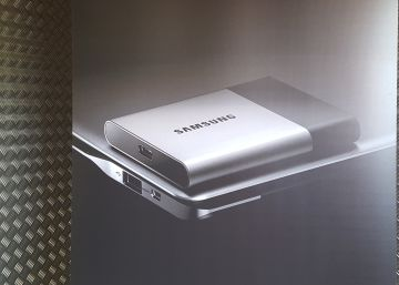 Samsung SSD T3: 2 teras de memoria en la palma de la mano