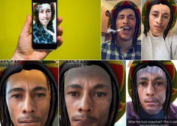 Polémica por el filtro de Bob Marley en Snapchat en el día del cánnabis