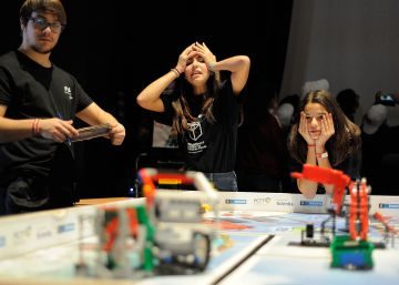 La First Lego League se celebra en Tenerife.