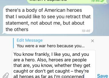 Telegram ofrece la posibilidad de editar los mensajes