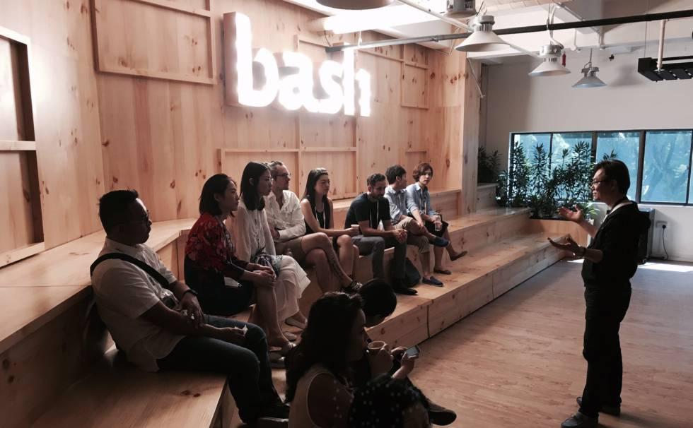 Bash, uno de los espacios de desarrollo de 'startups'.