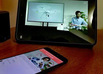 Imagen de la presentación del dron de Xiaomi.
