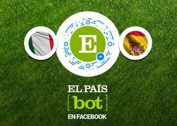 Un robot inteligente personaliza en Facebook la información de EL PAÍS
