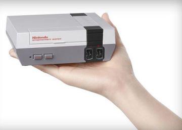 Nintendo explota el mercado 'retro' con el relanzamiento de la clásica videoconsola NES