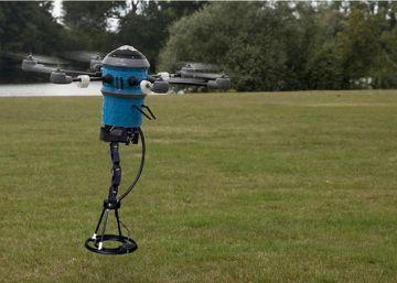 El dron que limpia campos de minas con rapidez y seguridad