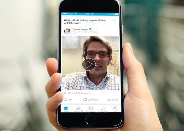 LinkedIn permite crear vídeos de 30 segundos a los usuarios más influyentes