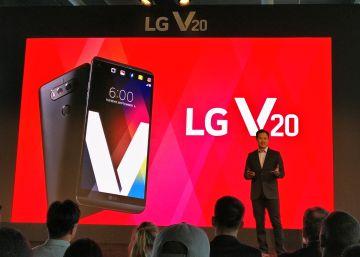 LG V 20, un móvil consagrado al vídeo