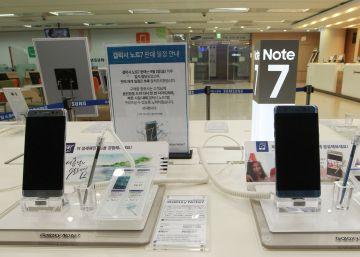 Samsung deshabilitará todos los Note 7 en EE UU mediante una actualización
