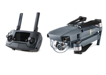 DJI presenta un dron que se pliega y cabe en el bolso