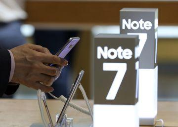 Samsung detiene la producción del Galaxy Note 7 tras el incendio de varias baterías