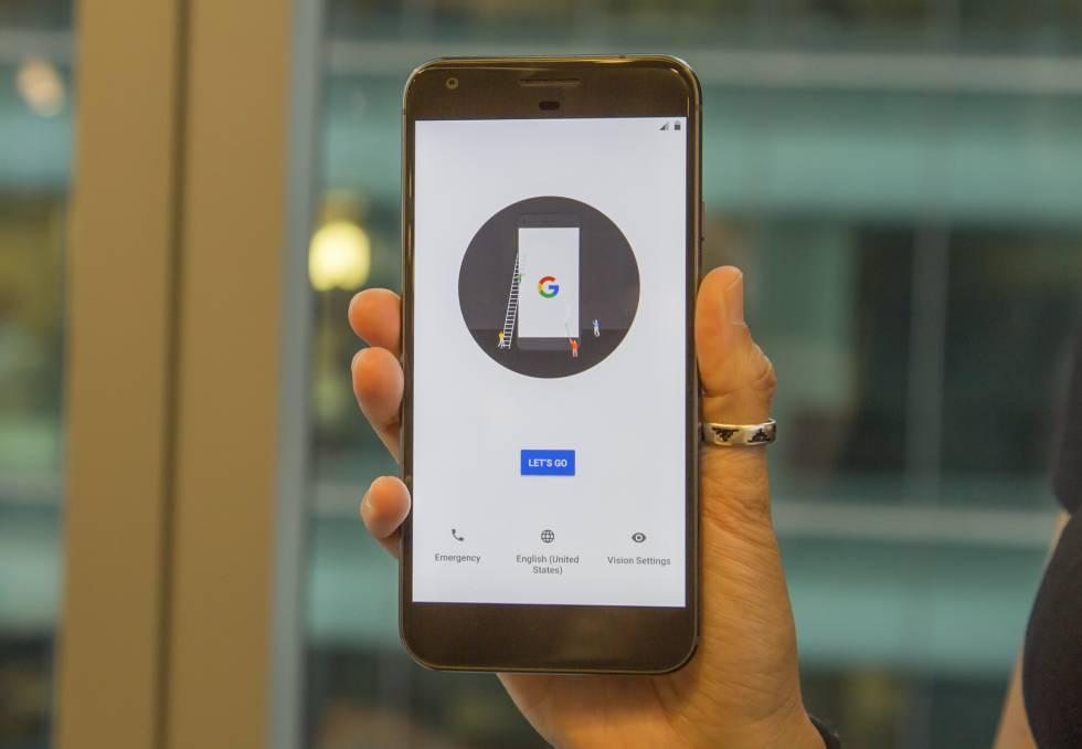 Frontal de Google Pixel
