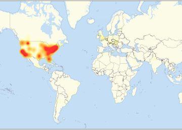 Varios ciberataques masivos inutilizan las webs de grandes compañías